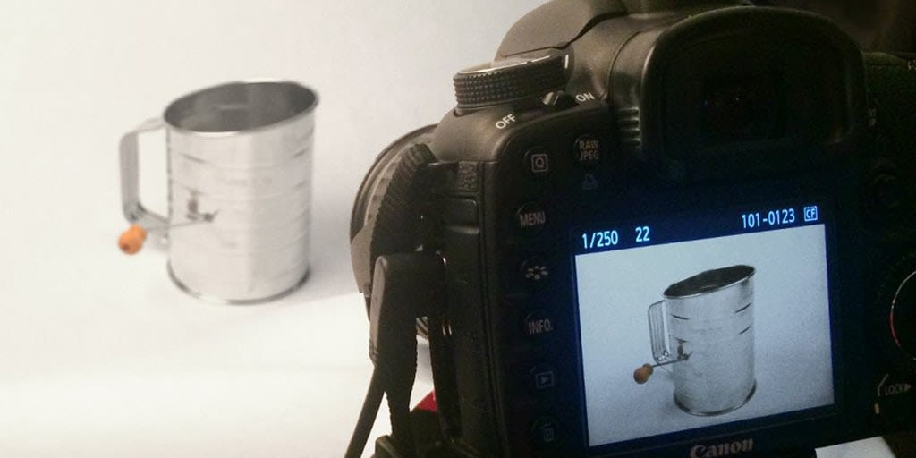 Don't Want to See the Photographer's Face Or Camera Reflections in Your Reflective Product Photos?