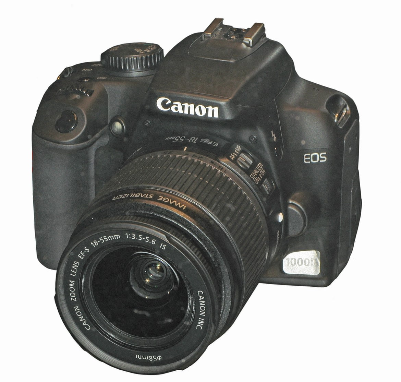 EOS 1000D Digital SLR Camera