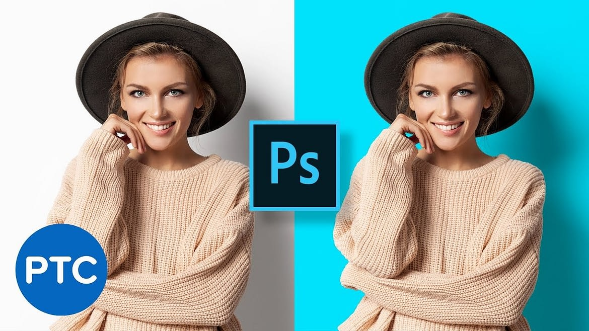 How To Change Background Color in Photoshop (easy)