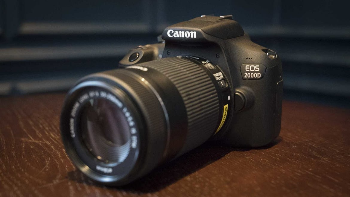 Best Video Settings for the Canon 2000D or Rebel T7 DSLR Camera