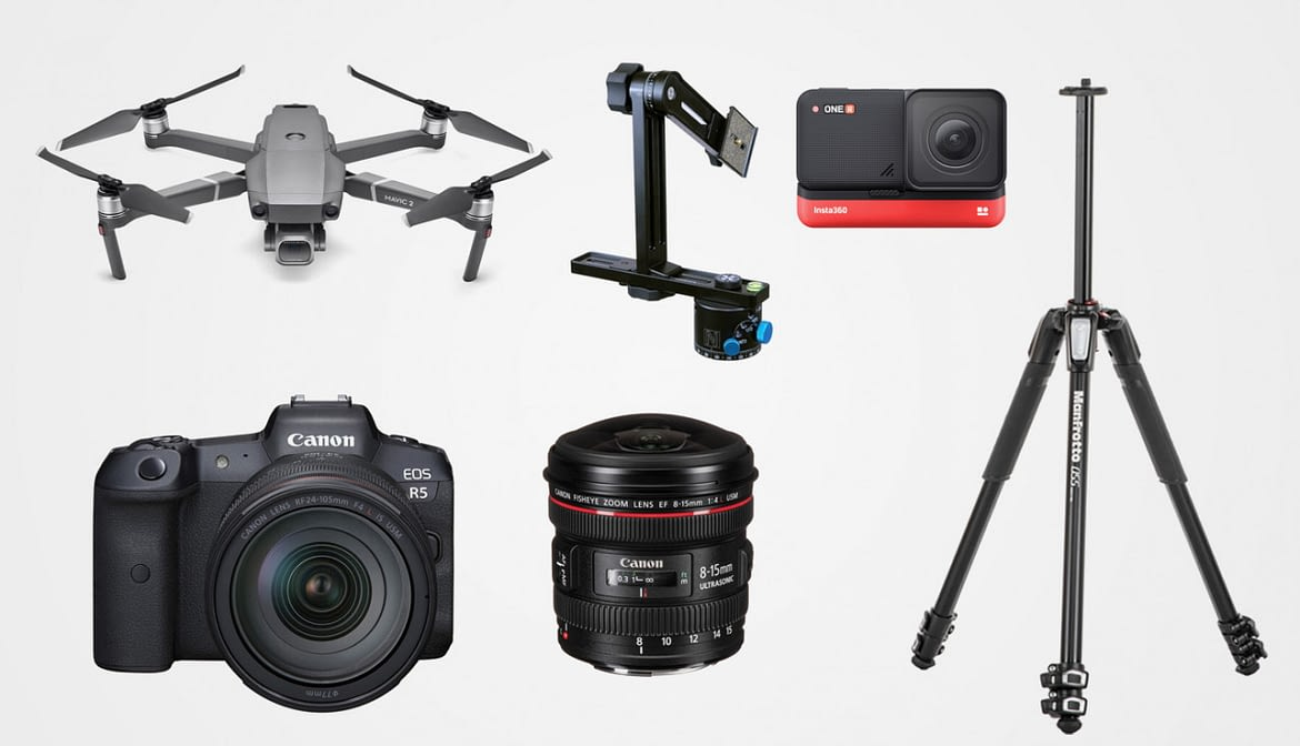 What Equipment Do You Need to Shoot Panoramas for Virtual Tours?