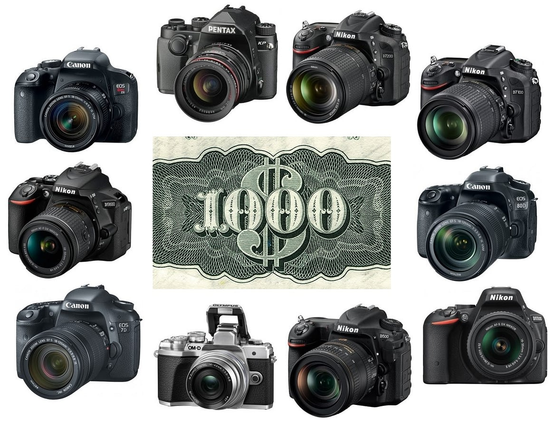 Best DSLR and DIL Cameras Under 1,000 Dollars