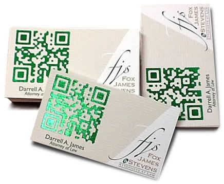 QR Code Design Tips: Add Foil Stamping