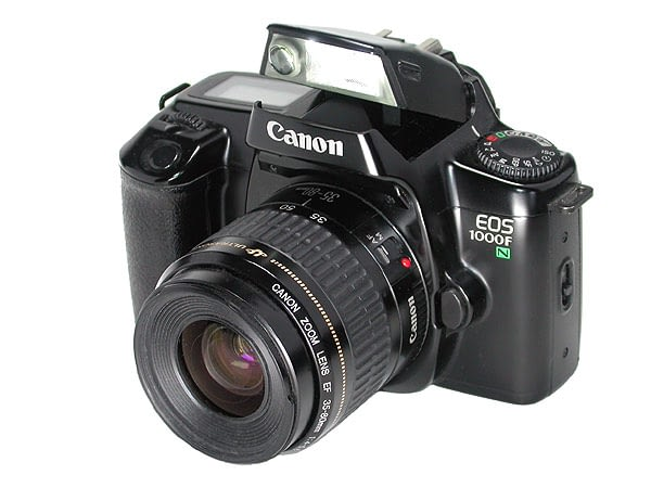 Why Is Canon EOS 1000F Different?