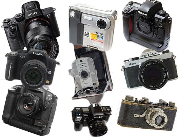 The Hottest Camera Names in the History of Photography